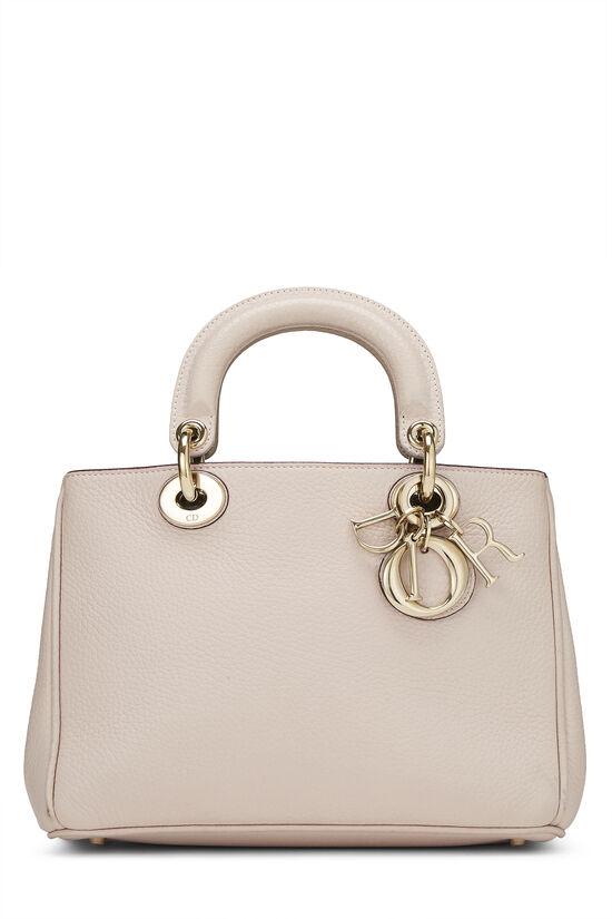Pink Calfskin Diorissimo Handbag Mini, , large image number 0
