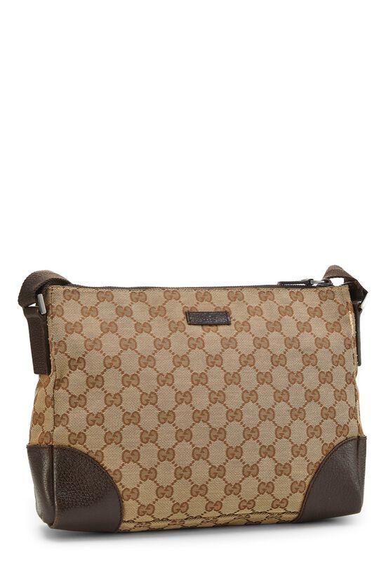 Original GG Canvas Shoulder Bag, , large image number 1
