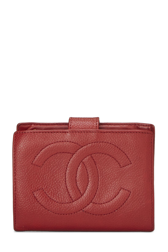 Red Caviar 'CC' Compact Wallet, , large image number 0