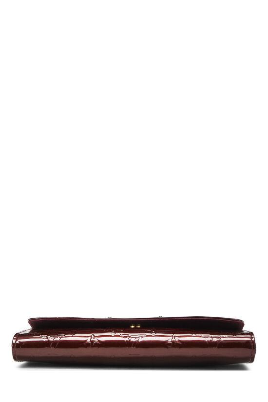 Rouge Fauviste Monogram Vernis Sunset Boulevard Shoulder Bag, , large image number 4