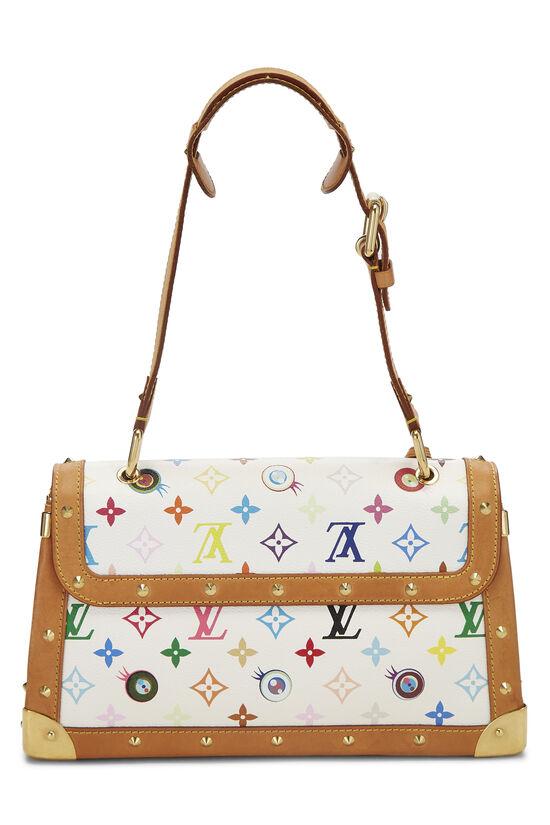 Takashi Murakami x Louis Vuitton White Monogram Multicolore Eye Need You Bag, , large image number 3