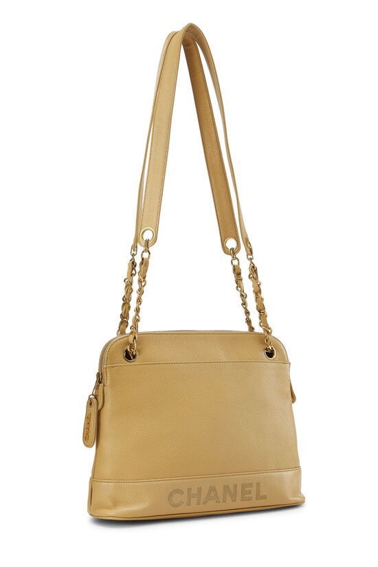 Beige Caviar Tote Small, , large image number 1