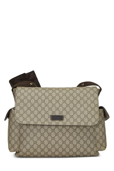 Original GG Supreme Canvas Diaper Bag
