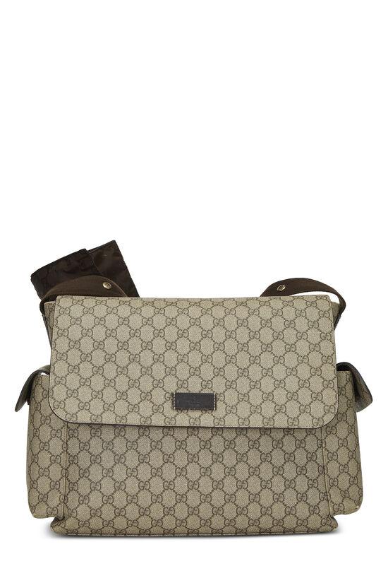 Original GG Supreme Canvas Diaper Bag, , large image number 0