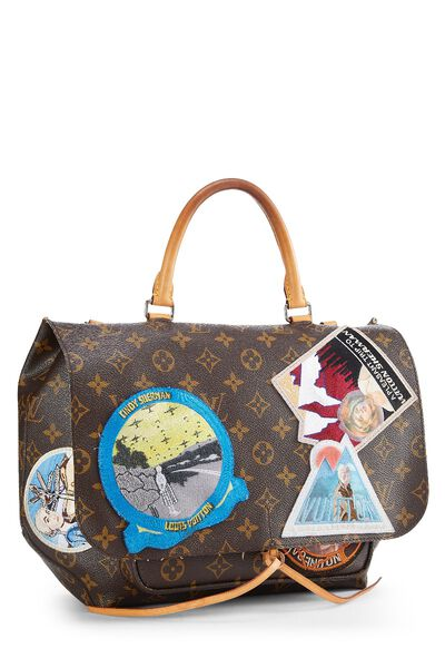Cindy Sherman x Louis Vuitton Iconoclasts Collection Monogram Canvas Messenger, , large