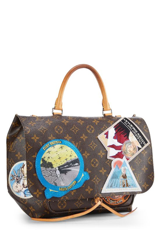 Cindy Sherman x Louis Vuitton Iconoclasts Collection Monogram Canvas Messenger, , large image number 1