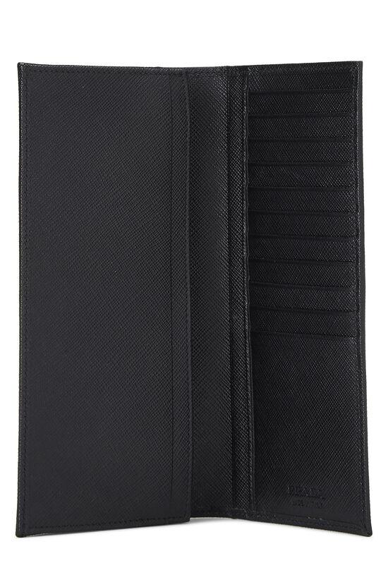 Black Saffiano Long Wallet, , large image number 3