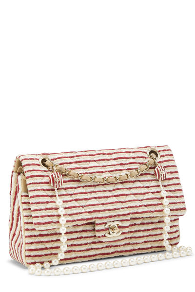 Red Striped Jersey Coco Sailor Flap Medium, , large