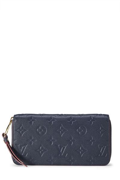 Bleu Infini Monogram Empreinte Zippy Continental Wallet
