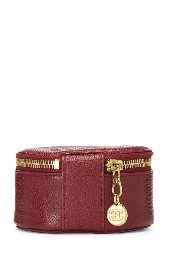 Red Caviar Timeless Jewelry Case, , large image number 3