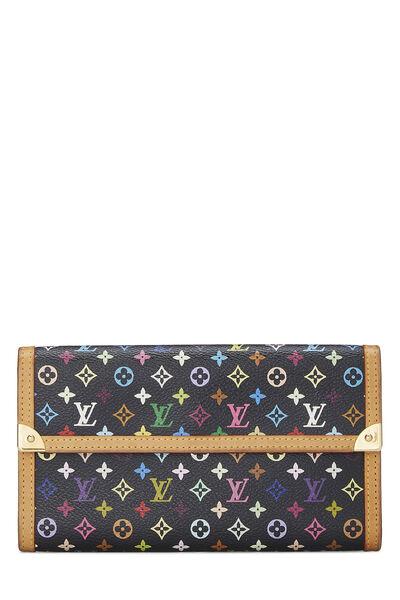 Takashi Murakami x Louis Vuitton Black Monogram Multicolore International