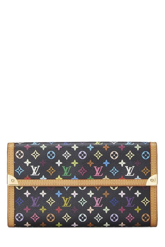Takashi Murakami x Louis Vuitton Black Monogram Multicolore International, , large image number 0
