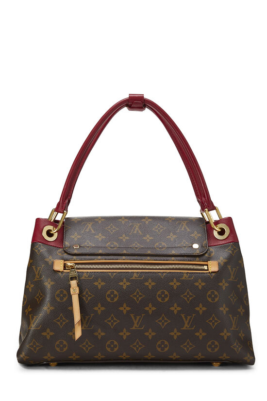 Red Monogram Canvas Olympe, , large image number 3