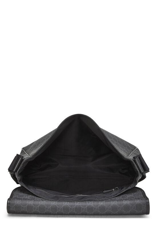 Black Original GG Supreme Canvas Messenger Bag Large, , large image number 5