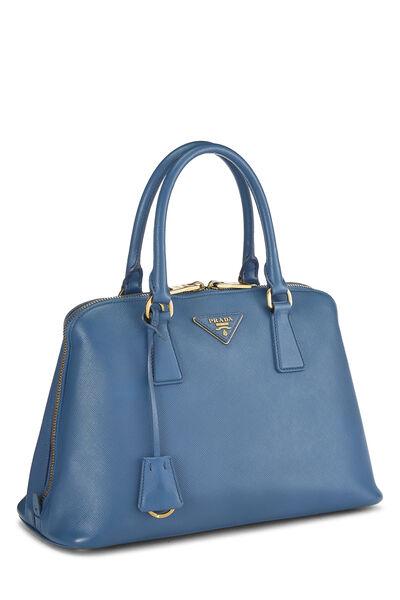 Blue Saffiano Promenade Medium, , large