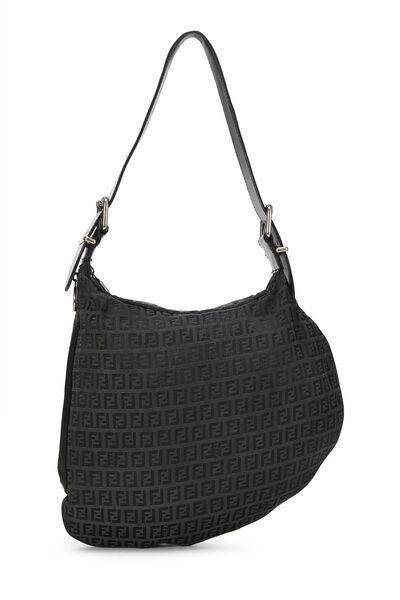 Black Zucchino Canvas Oyster Bag