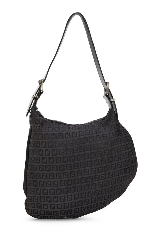 Black Zucchino Canvas Oyster Bag, , large image number 0