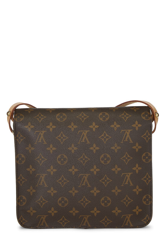 Monogram Canvas Cartouchiere GM, , large image number 3