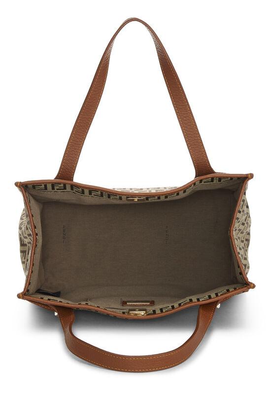 Brown Zucchino Canvas Handbag Small, , large image number 5