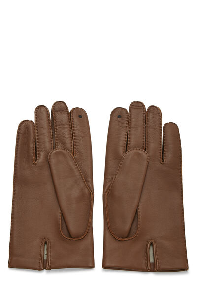 Brown Lambskin Gloves, , large