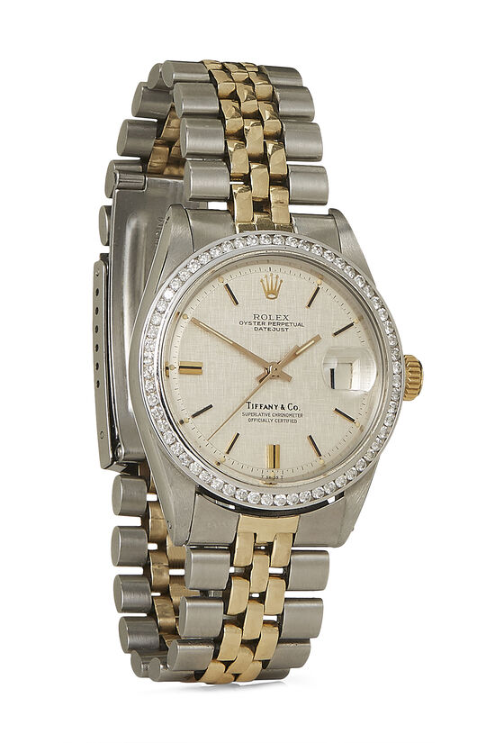 Tiffany & Co. Diamond & Stainless Steel Datejust 1601 36mm, , large image number 0