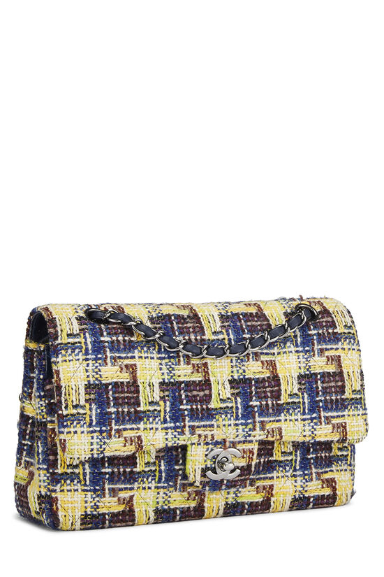 Multicolor Tweed Classic Double Flap Medium, , large image number 1