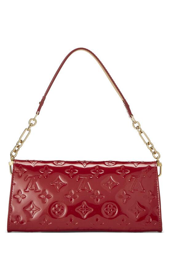Cerise Monogram Vernis Sunset Boulevard Shoulder Bag, , large image number 3
