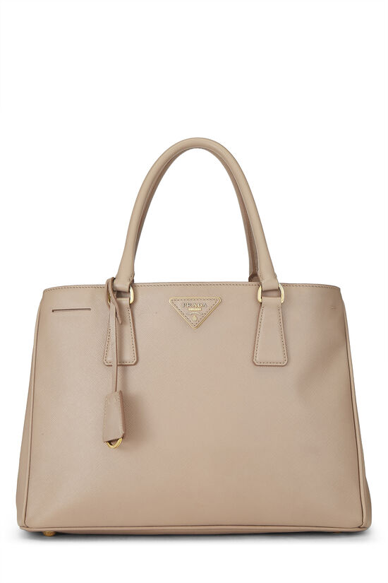 Pink Saffiano Leather Tote, , large image number 0