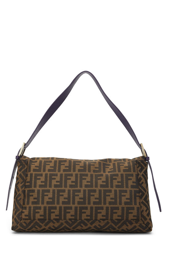 Brown Zucca Canvas Baguette XL, , large image number 3