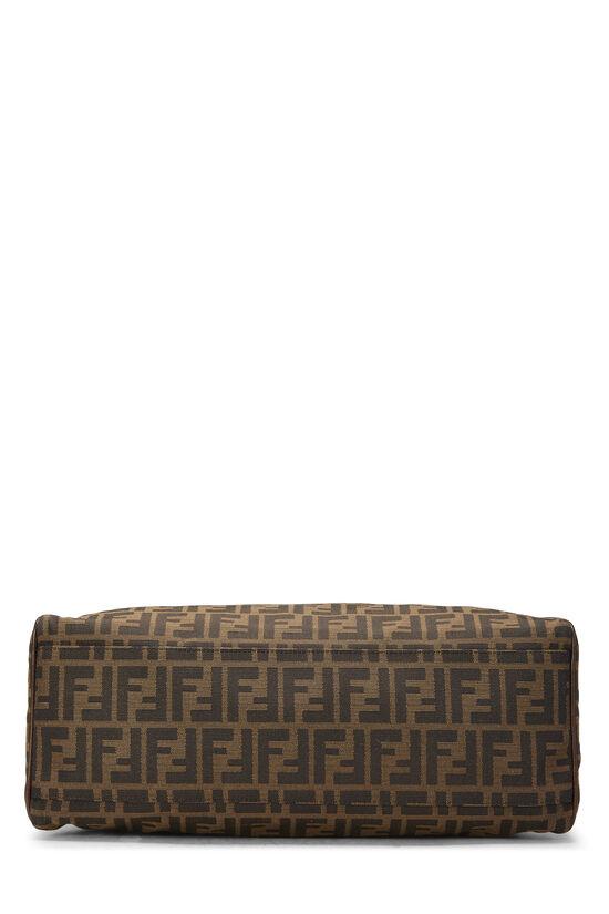 Brown Zucca Canvas Bag Du Jour Medium, , large image number 4