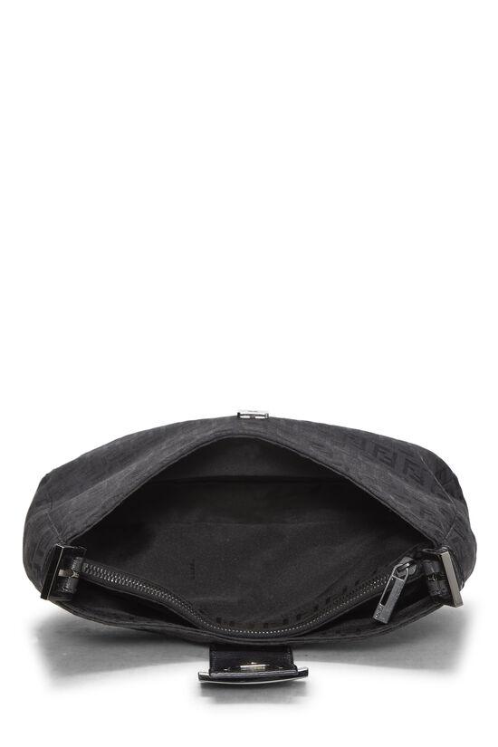 Black Zucchino Canvas Shoulder Bag, , large image number 5