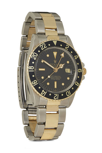Stainless Steel & 14K Yellow Gold GMT-Master 1675 40mm