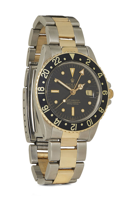 Stainless Steel & 14K Yellow Gold GMT-Master 1675 40mm, , large image number 0