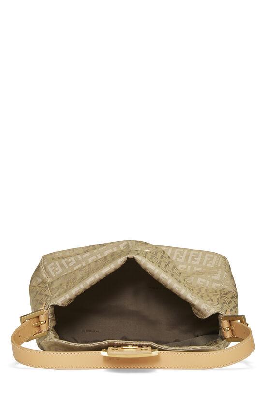 Beige Zucchino Canvas Shoulder Bag, , large image number 5