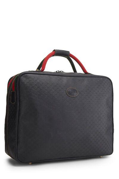 Black Original GG Coated Canvas Suitcase, , large