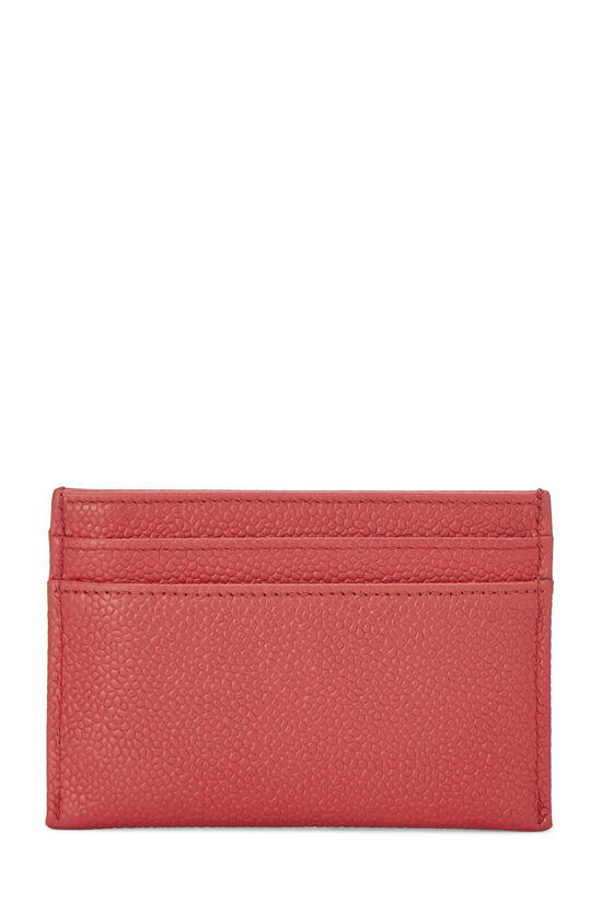 Red Caviar 'CC' Card Holder, , large image number 2