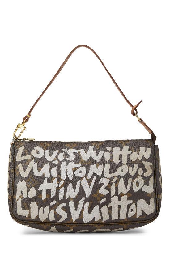 Stephen Sprouse x Louis Vuitton Grey Monogram Graffiti Pochette Accessoires, , large image number 0