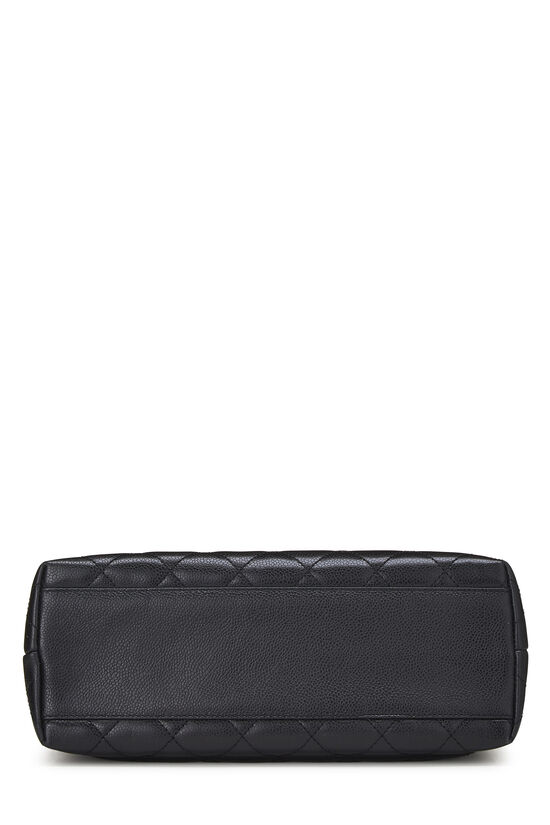 Black Quilted Caviar Kelly Jumbo, , large image number 4