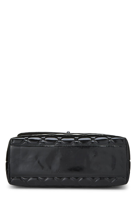 Black Quilted Patent Leather Kelly Jumbo, , large image number 4