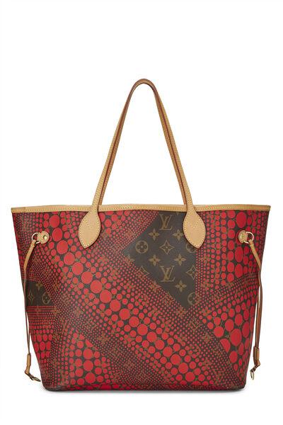 Yayoi Kusama x Louis Vuitton Red Monogram Dots Infinity Neverfull MM