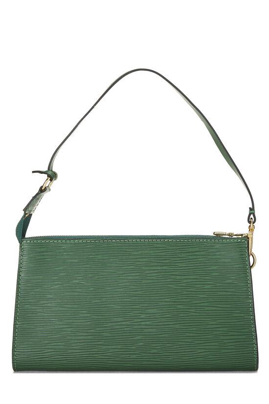 Borneo Green Epi Pochette Accessoires, , large image number 3