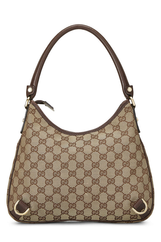 Original GG Canvas Abbey Hobo Small, , large image number 3