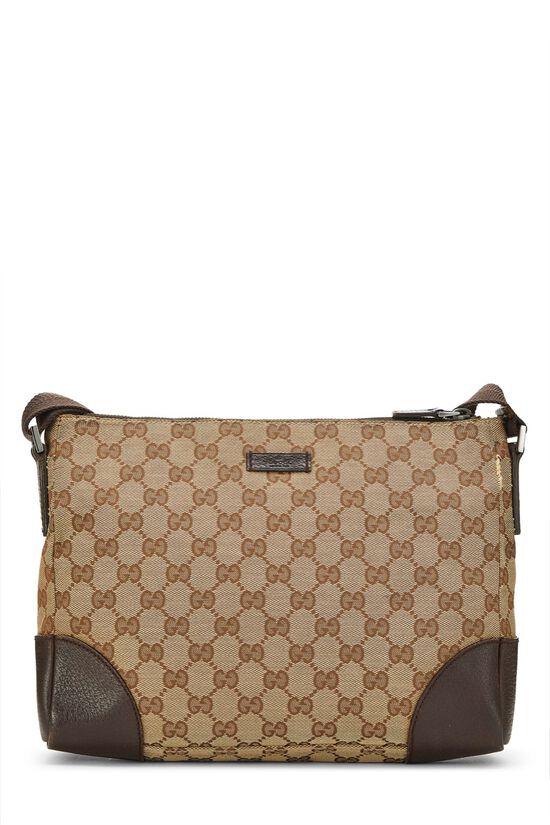 Original GG Canvas Shoulder Bag, , large image number 0