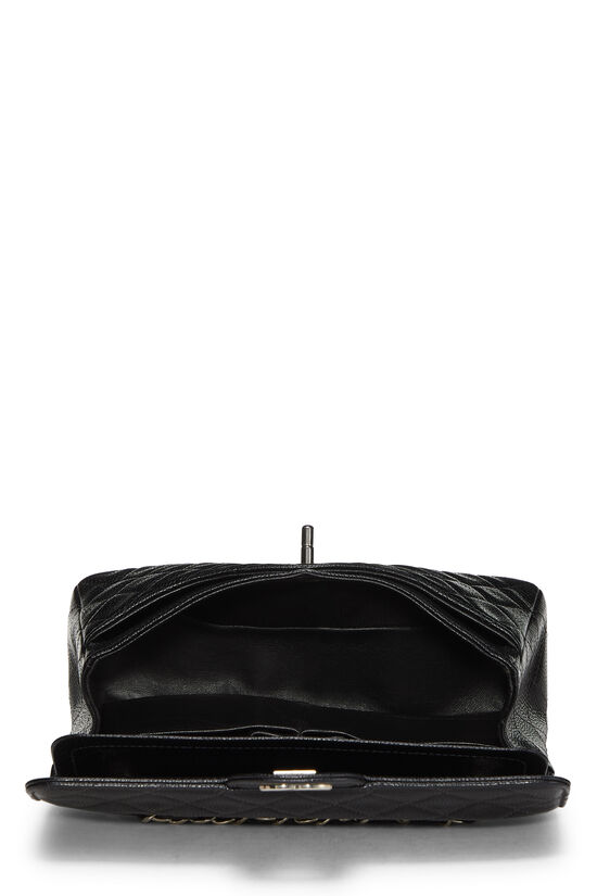 Black Quilted Caviar Classic Double Flap Small, , large image number 5