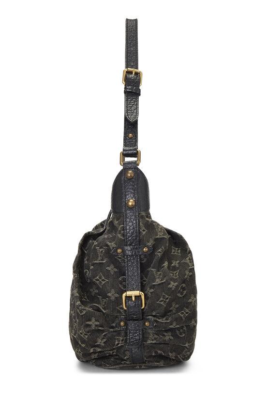 Black Monogram Denim Mahina Extra Small, , large image number 2