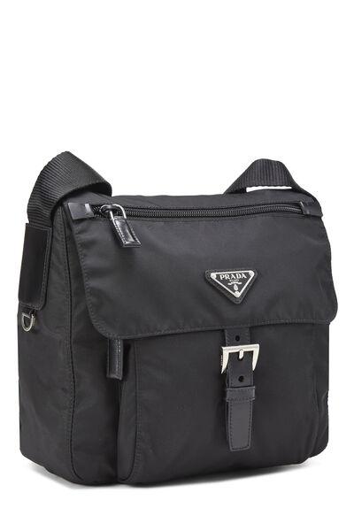 Black Vela Shoulder Bag, , large