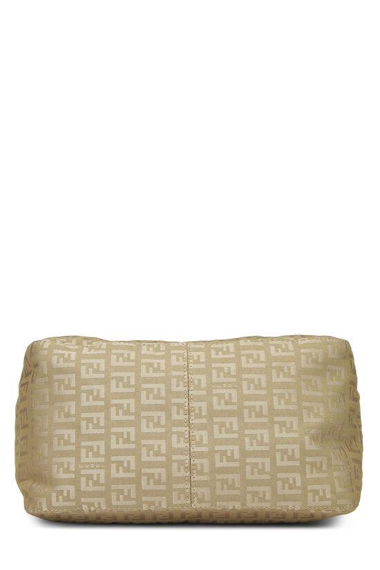 Beige Zucchino Canvas Shoulder Bag, , large image number 4