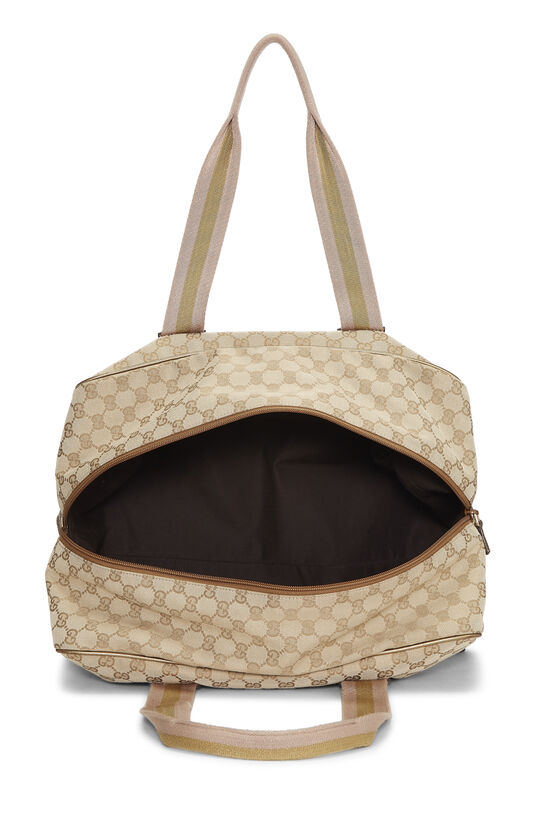 Original GG Canvas Carry On Duffle Large, , large image number 5