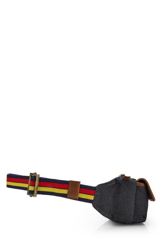 Blue Denim Belt Bag, , large image number 2