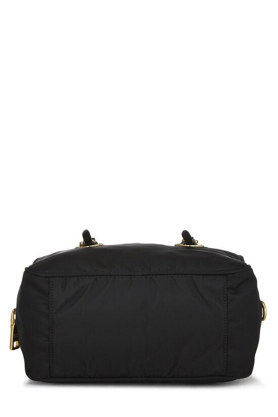 Black Tessuto Nylon Handbag Mini, , large image number 4